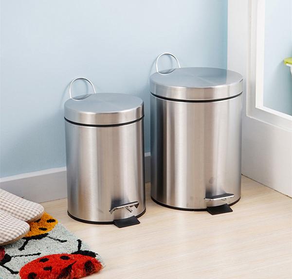 Ưu điểm của thùng rác inox mini