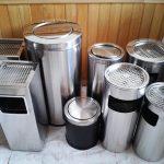 Nên mua những mẫu thùng rác inox nào?