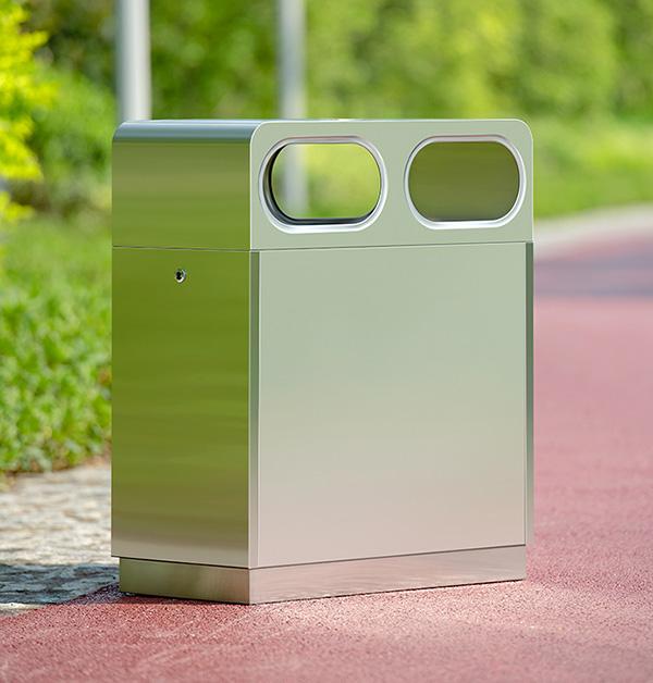 Đặc điểm nổi bật của thùng rác inox 2 ngăn