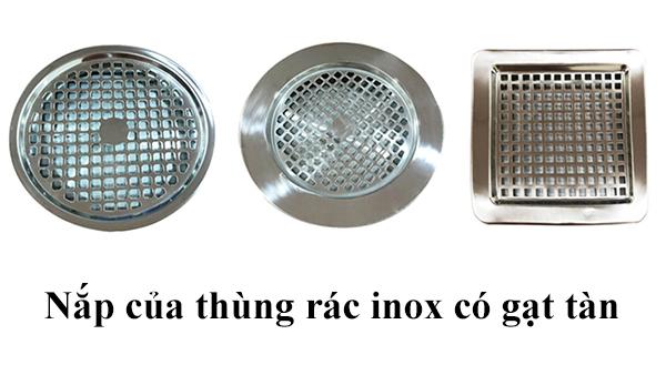 Nơi bán nắp đậy thay thế cho thùng rác inox