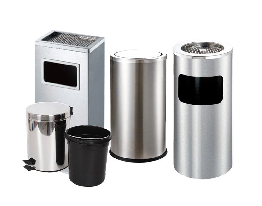 Bí quyết giúp tăng tuổi thọ thùng rác inox