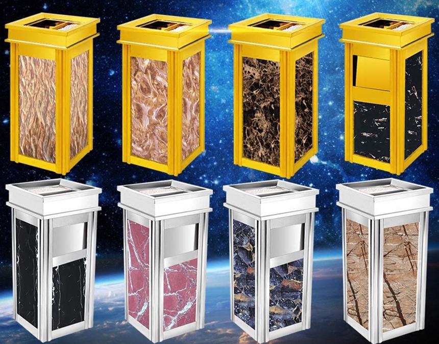 Vì sao nên mua thùng rác đá hoa cương?