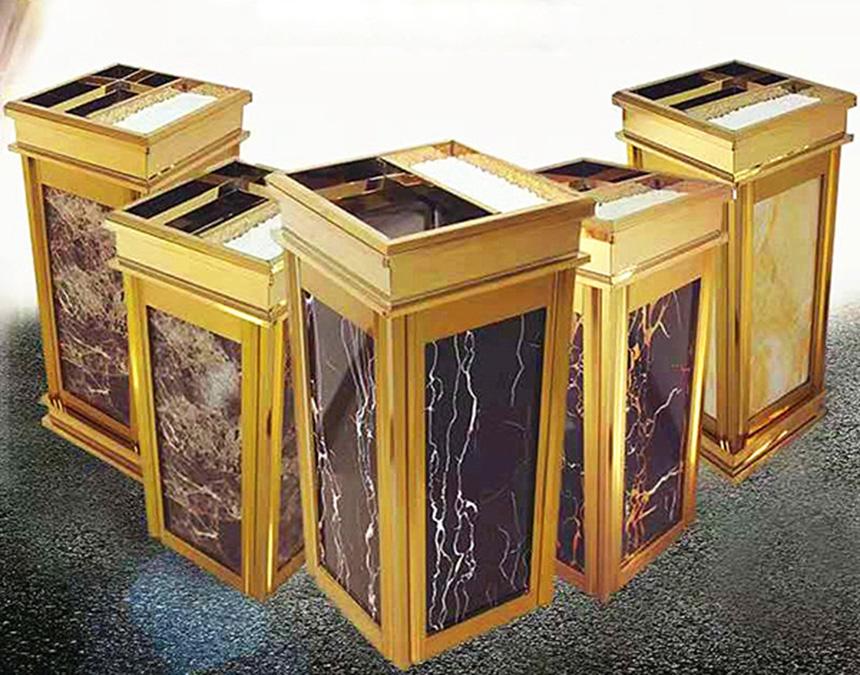 Hướng dẫn sử dụng thùng rác đá hoa cương đúng cách