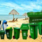 Nên đặt những mẫu thùng rác nào tại bờ biển?