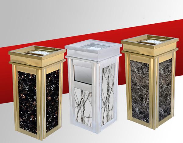 Khi vệ sinh thùng rác đá cần tránh những điều sau