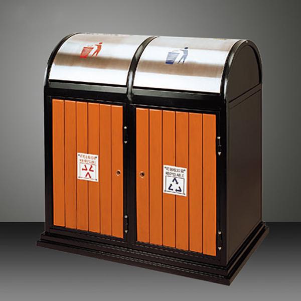 Mẹo vặt giúp thùng rác gỗ sử dụng được lâu hơn