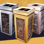 Hướng dẫn bảo quản thùng rác đá hoa cương