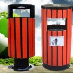 Thùng rác giả gỗ là gì? Tại sao lại gọi là thùng rác giả gỗ?