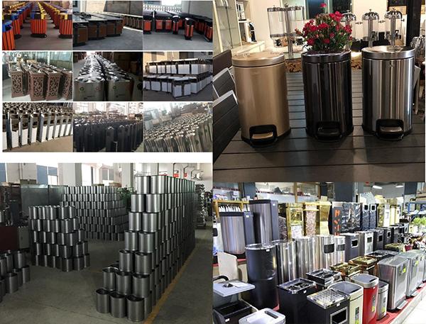 Đại lý phân phối thùng rác inox tại HCM uy tín