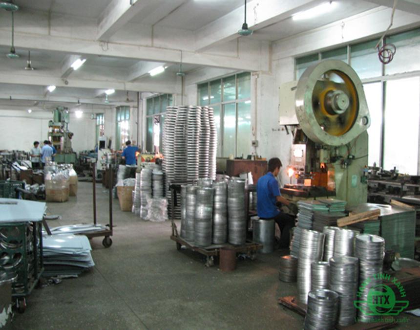 Tiêu chí sản xuất thùng rác inox tại Hành Tinh Xanh