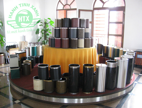 Địa chỉ bán thùng rác inox tại Hải Phòng