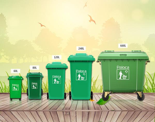 Hướng dẫn phân loại thùng rác đúng cách