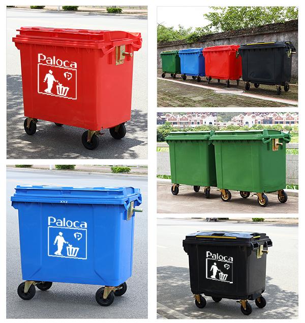 Lắp đặt thùng rác cho khu dân cư như thế nào?