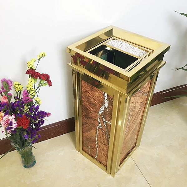 2 mẫu thùng rác đá được sử dụng nhiều nhất hiện nay