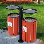 Đặc điểm nổi bật của thùng rác gỗ