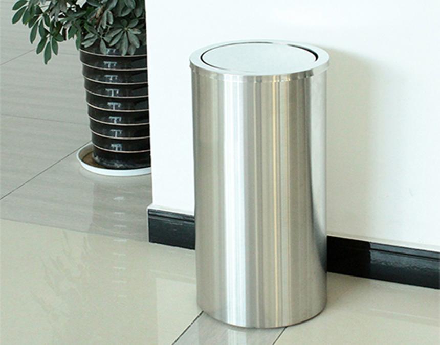 Thùng rác inox nắp lật có những ưu điểm gì?