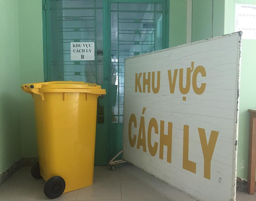 Quy trình xử lý rác trong khu cách ly
